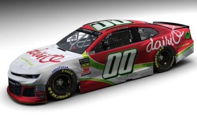 StarCom Racing and Dairi-O Restaurants are Back at it for the Bank of America Roval