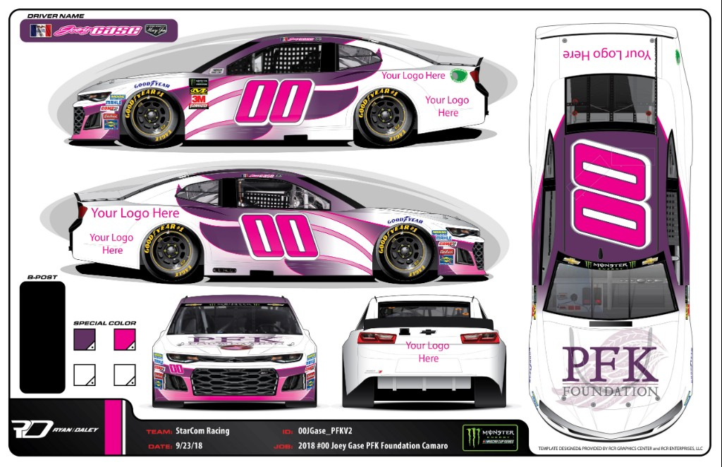 Sparks Energy Inc. to Donate Talladega Sponsorship to PFK Foundation for Pediatric Cancer Research