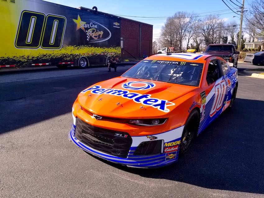 Permatex Returns to NASCAR with StarCom Racing at the Daytona 500
