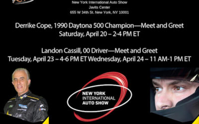 NASCAR TEAM StarCom Racing Debuts at New York International Auto Show