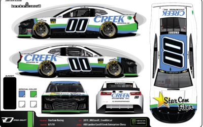StarCom Racing and Landon Cassill Partner with Michigan Headquartered Company Creek Enterprise