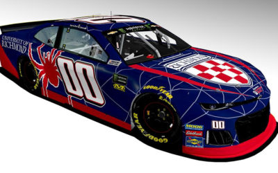 StarCom Racing NASCAR Driver Landon Cassill to Race University of Richmond-Branded Car Under the Lights at Richmond International Raceway