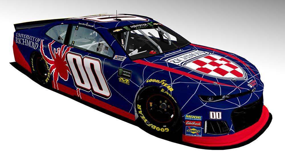 StarCom Racing NASCAR Driver Landon Cassill to Race University of Richmond-Branded Car Under the Lights at Richmond International Raceway