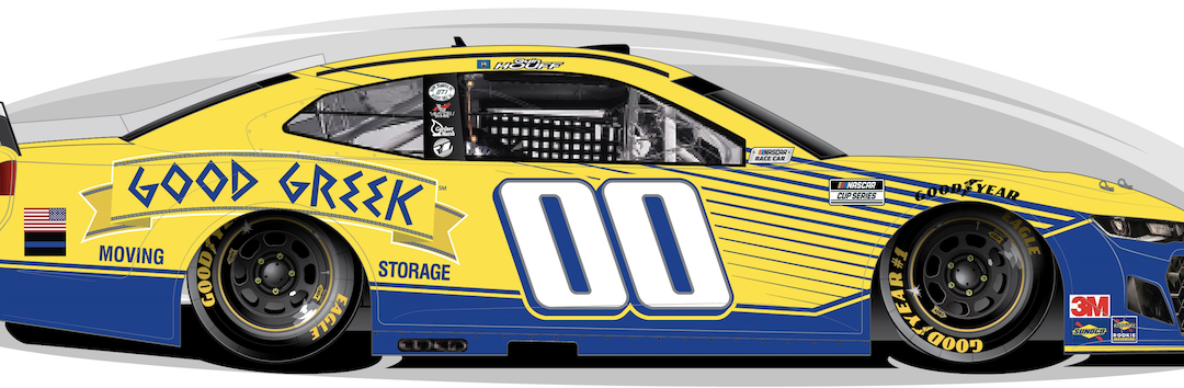 Good Greek Moving and Storage Partners with StarCom Racing for Darlington Raceway and Announces New Location in Greensville, SC