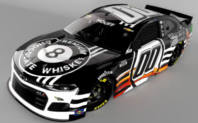 Quin Houff and StarCom Racing Stir it Up with 8-Ball Premium Chocolate Whiskey