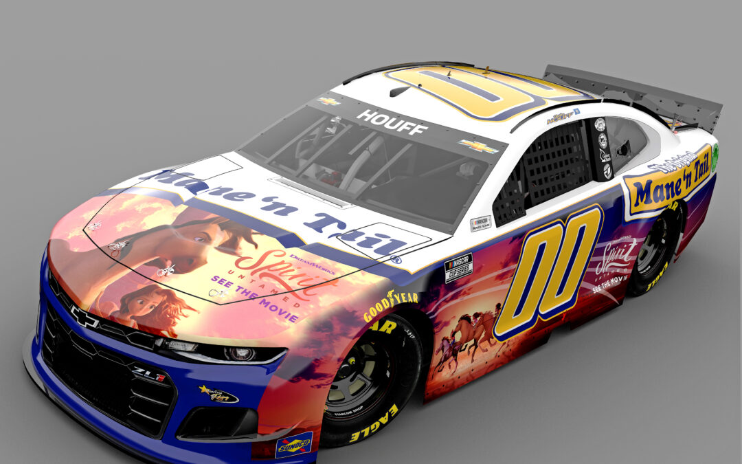 STARCOM RACING AND MANE 'N TAIL PARTNER WITH DREAMWORKS ANIMATION'S NEW FILM, SPIRIT UNTAMED